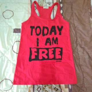 Nevada Red Tank Top