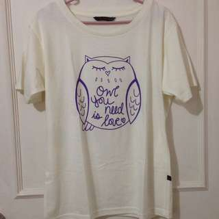 Le'chic Owl Top