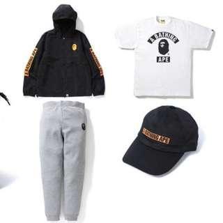 Bape Summer Bag 2017 Items