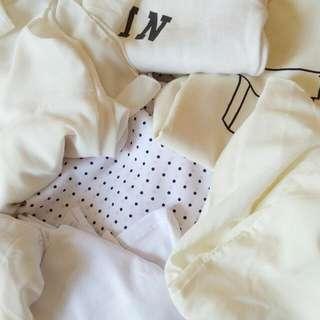 7 Baju Putih Putih Siap Bungkuss
