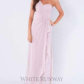White Runway Dress