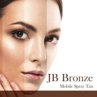JB Bronze Spray Tan