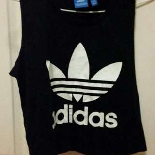 Adidas Sleeveless Cropped Top