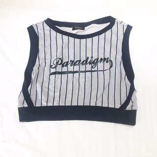 Outkast Paradigm Cropped Top