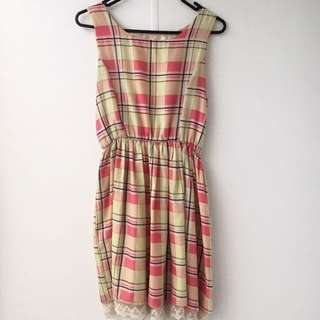 Pastel Kawaii Dress Size 10