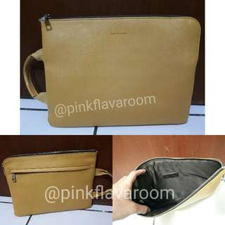 Hush Puppies Clutch/ipad Bag Authentic
