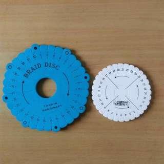 手鍊編織盤(有2大1小/可換物/贈品) #交換最划算