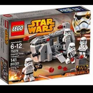 [LOOKING FOR] LEGO 75078 Imperial Troop Transport W/O Minifigures