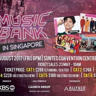 [WTT] MUSIC BANK IN SINGAPORE CAT 1