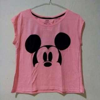 Bershka Shirt Disney Edition