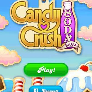 candy crush soda 帳戶,1146關