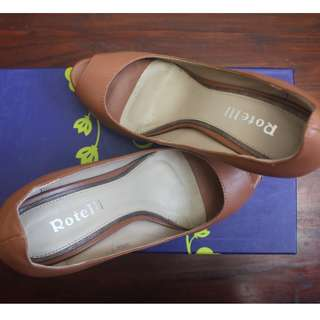[REPRICE] ROTELLI BROWN HIGH HEELS