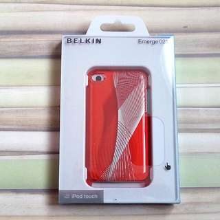 BNIP Red Belkin Emerge 021 Hard Shell Case For iPod Touch