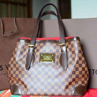 Louis Vuitton Damier Hampstead MM Authentic