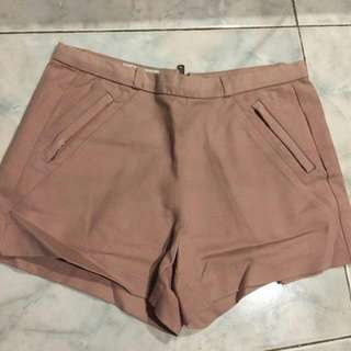 Hot Pants Berskha Labelled Pink Dusty