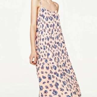 Zara Peach Dress