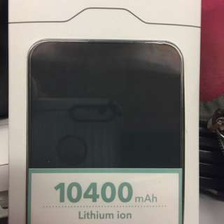 Brand New Verbatim Mobile Tablet Power Bank  10400 Mah