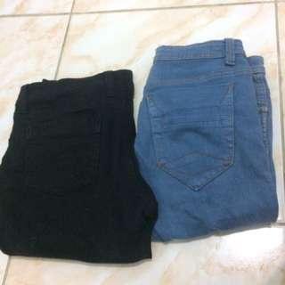 2 Buah Jeans 80rb