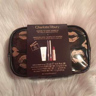 Charlotte Tilbury Quick N' Easy Red Carpet Party Look Set