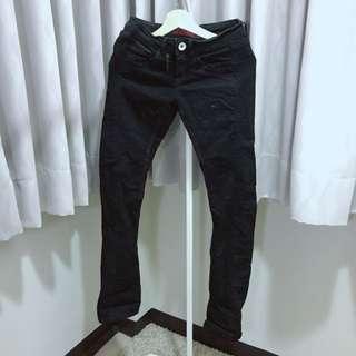 TOUGH黑色牛仔長褲