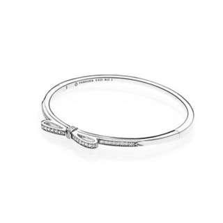 潘朵拉 925純銀 手環 硬環