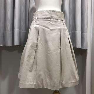 Zara 米色及膝正裝裙