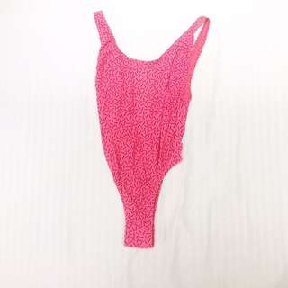 Pink Sexy Back 1 Piece