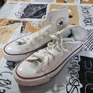 Slightly used Converse High-cut Shoes
