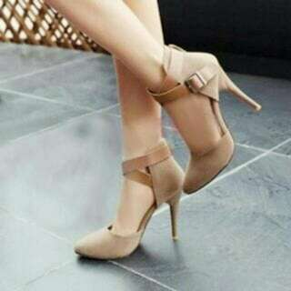 High Heels Pantopel OG22 Cream LS