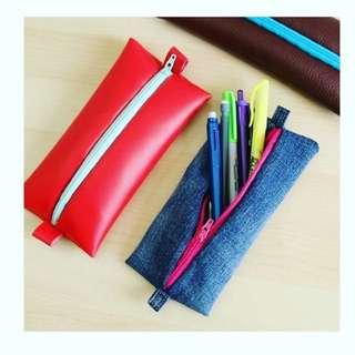 PU Leather Pencil Case