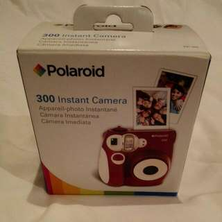Polaroid Instant Camera Black 300 AUTHENTIC Make An Offer