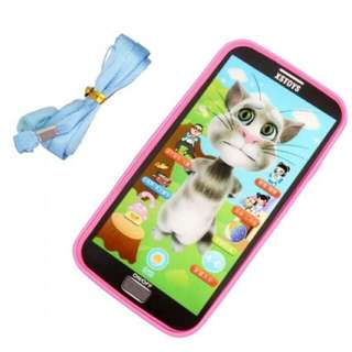 Baby Simulator Music Phone Touch Screen Kid Educational Learning Toy - Intl