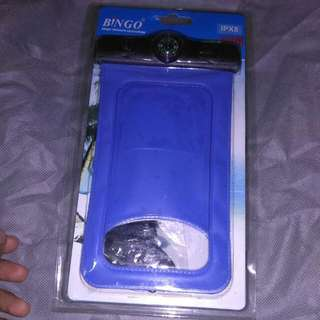 Bingo biru mobile phone waterproofbag