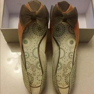 Joyce & Peace 女鞋  返工鞋 中高跟鞋 蝴蝶結鞋