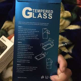 Tempered Glass Cover!