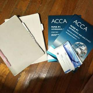 FREE P1 Acca Text, Exam Kit, SAA GLOBAL Notes