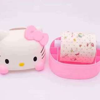 Hello Kitty Tissue Roll Holder
