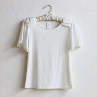 韓國製🇰🇷波浪垂袖上衣