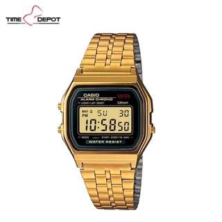 Casio Gold With Black Vintage