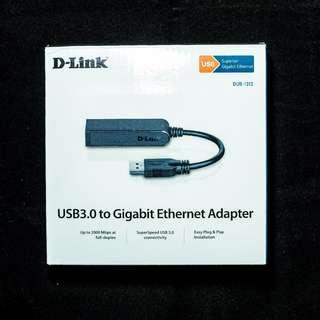 D-Link USB 3.0 to Gigabit Ethernet Adapter