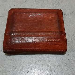 Moustache Brand Wallet (Brown)