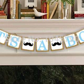Baby Shower Bunting (used)