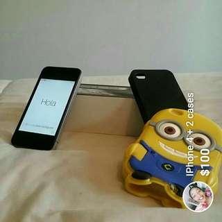 IPhone 4 +2 Cases