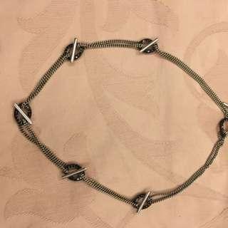 Swarovski 黑鑽項鍊