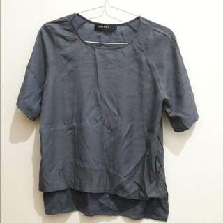 Zalora Grey Blouse