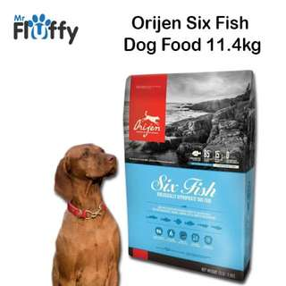 Orijen Six Fish 11.4kg Dog Food