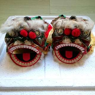 Mini Lion Dance Head 2 sizes