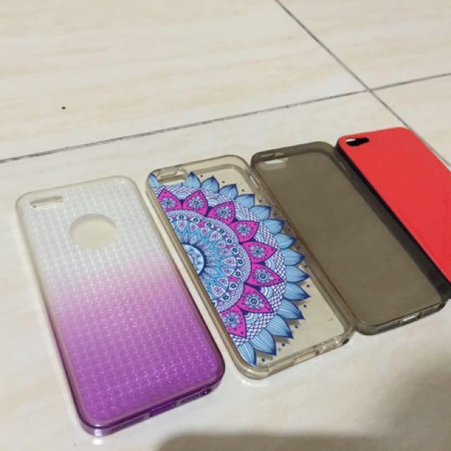 4pcs Iphone 5 Case Bundle
