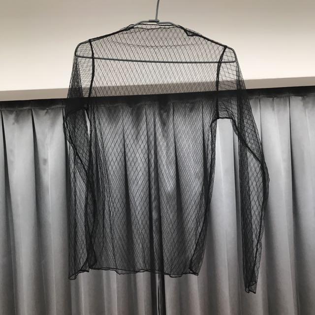 性感網格透視上衣
