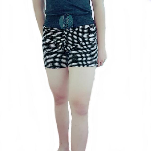 風格綁帶短褲